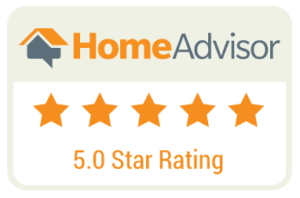 5 Star rated on Home Advisor